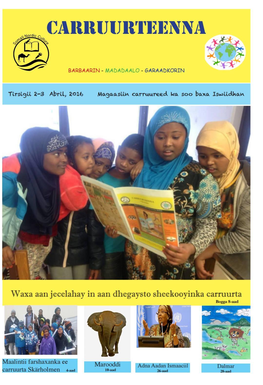 Sveriges barntidning på somaliska