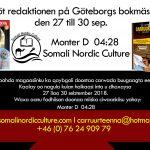 Möt redaktionen på Göteborgs bokmässan den 27-30 sep.