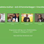 Somaliska kultur- och litteraturdagar i Stockholm